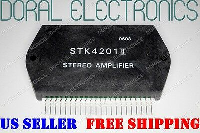 STK4201II Free Shipping US SELLER Integrated Circuit IC Stereo Amplifier