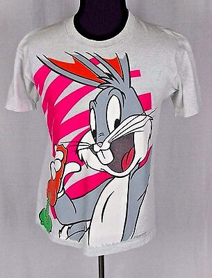 Bugs Bunny Warner Bros Vintage 1994 College Ware USA Large Cotton T Shirt