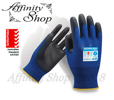 12x Force360 Eco Work Gloves Safety PPE Any Size Ninja Style Glove WORX101 NEW!