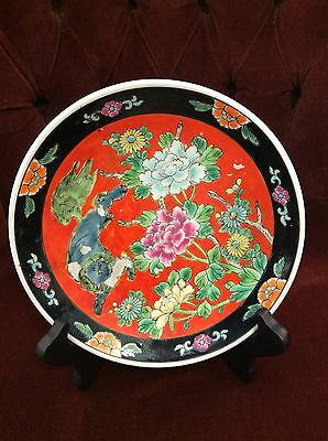 Japanese  Imari plate with imprinted early mark  Mint  7 inches