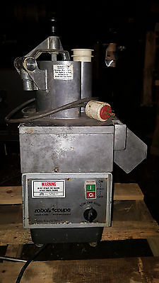 Robot Coupe R6N Food Processor Continuous Feed Chute Chopper Cutter 3 Phase NICE
