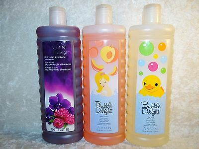Avon Bubble Bath Shower Body Cleanse 24oz your choice of scent $8 or 2 for $14