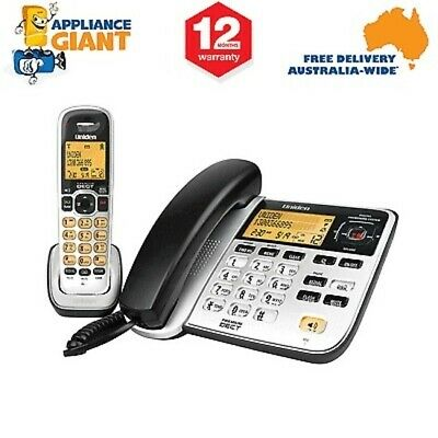 Uniden DECT2145+1 Corded & Cordless Phone Pack - NEW