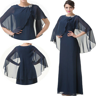 Mother of the Bride WEDDING Formal Long Prom Party Evening Gowns Dress PLUS SIZE