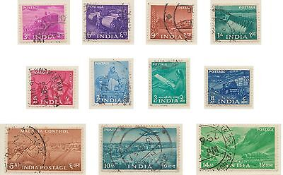 (IC-14) 1955 India part 15set tractor &other subjects