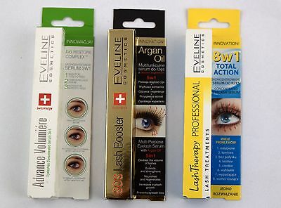Eveline Lash Booster 5in1 Therapy 8in1 Advance Volumiere Serum 3in1  CHOOSE