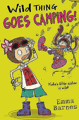Wild Thing Goes Camping, New, Emma Barnes Book