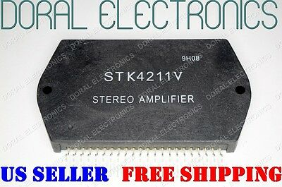 STK4211V Free Shipping US SELLER Integrated Circuit IC Stereo Amplifier