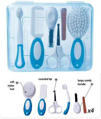 BABY GROOMING KIT Canpol 2/796 Comb Brush Safe Scissors Clippers Toothbrush Set