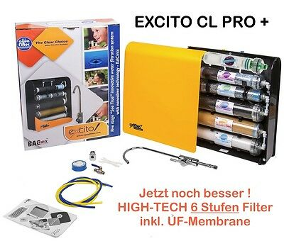 Excito-B CL Pro +  6 Stufen Wasserfilter Kapillarmembrane Ultrafiltration