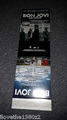 Bon Jovi Lost Highway   Promotional  Table Topper  RARE