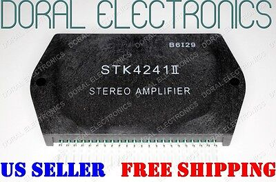 STK4241II Free Shipping US SELLER Integrated Circuit IC STEREO AMPLIFIER