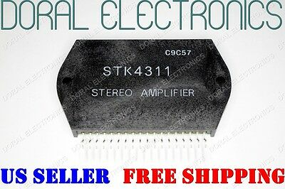 STK4311 Free Shipping US SELLER Integrated Circuit IC STEREO AMPLIFIER