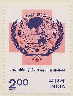 (IC-216) 1977 India 2R red cross