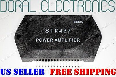 STK437 Free Shipping US SELLER Integrated Circuit IC STEREO POWER AMPLIFIER