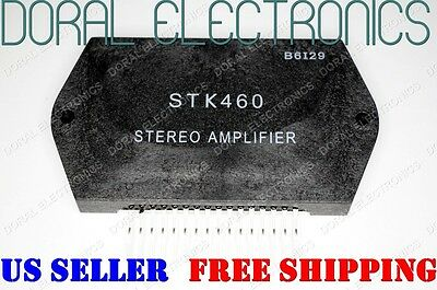 STK460 Free Shipping US SELLER Integrated Circuit IC STEREO AMPLIFIER