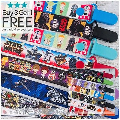 Star Wars Dummy Clip - Pacifier Clips - Soother Chain (DC100034-15)