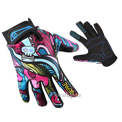 Motorcycle Racing Cycling Mountain Road Bike Bicycle Full Finger Gloves Guantes