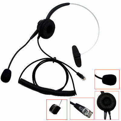 Replacement Headset for Plantronics A100 T10 T20 T110 S11 S12 Telephone Black US