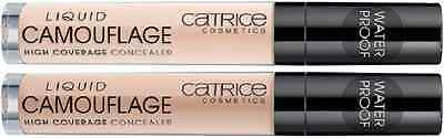 CATRICE Liquid Camouflage - High Coverage Concealer WP ++Farbwahl++ NEU&OVP