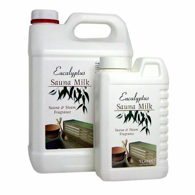 Eucalyptus Sauna Milk - Essential Oil Fragrance To Enhance Sauna & Steam Rooms