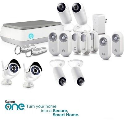 Swann SwannOne Advanced Smart Monitoring CCTV Kit Wireless Alarm HD Video Camera