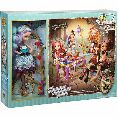 NEW - Ever After High - HAT TASTIC PARTY SET with Madeline Hatter, Wonderland