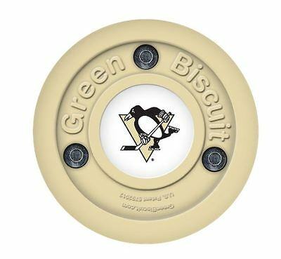 NEW OFF ICE TRAINING GREEN BISCUIT Pittsburgh Penguins PUCK