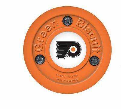 NEW OFF ICE TRAINING GREEN BISCUIT Philadelphia Flyers PUCK