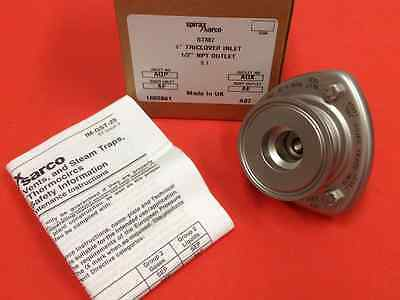 "Spirax/Sarco-Part #BTM7, 1-1/2""-Tri-Clover Inlet / 1/2""NPT Outlet-Steam Trap-NEW"