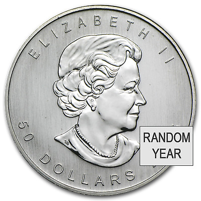 Canada 1 oz Palladium Maple Leaf BU (Random Year) - SKU #32457