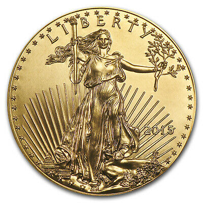 2015 1/10 oz Gold American Eagle BU - SKU #84886