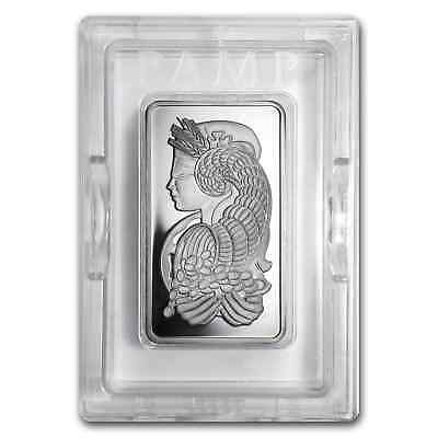 10 oz Platinum Bar - PAMP Suisse (In Assay) - SKU #53941