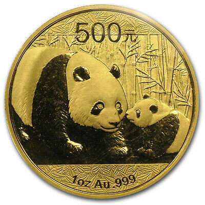 2011 China 1 oz Gold Panda BU (Sealed) - SKU #59976