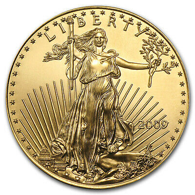 2009 1 oz Gold American Eagle Coin - Brilliant Uncirculated - SKU #48683