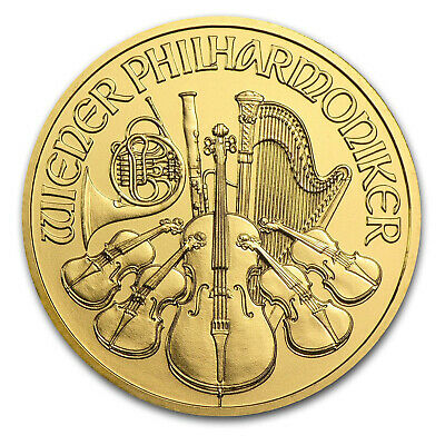2015 Austria 1 oz Gold Philharmonic BU - SKU #84902