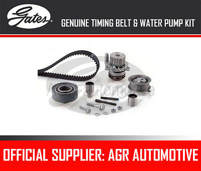 GATES TIMING BELT AND WATER PUMP KIT FOR AUDI A3 1.9 TDI 90 BHP 1996-01 OPT2