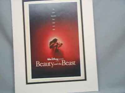 Beauty and The Beast #2 Disney Color Cartoon Poster