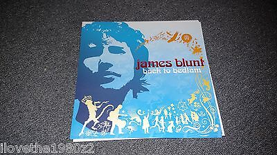 James Blunt Back to Bedlam  Promotional  Albm Flat  RARE