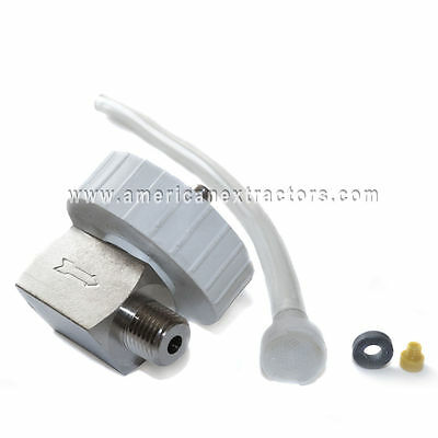 Prespray Siphon Valve Carpet Cleaning Replacement Hydroforce Check Valve Sprayer