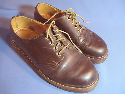 Dr Martens The Original Made in England Brown Mens Size 6  (ref:photoBx1)