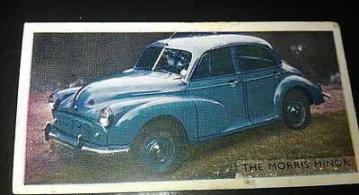 1952 MORRIS MINOR  Orig Trading Card RSPOA UK