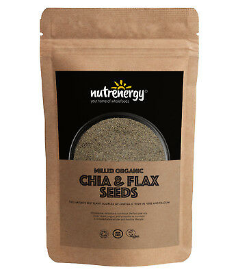 Milled Organic Chia And Flax Seeds | Free Tracked Delivery