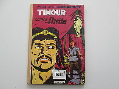 Les Timour T8 Eo1960 Be/tbe Timour Contre Attila Dos Pince Beige Clair