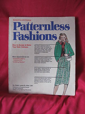 Patternless Fashions Sewing Book For Professionals & Beginners 1966