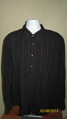 2XL Marc Ecko New York Times Square Long Sleeve Button Down Casual Shirt