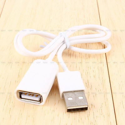 USB 2.0 Male to Female Extend Extension Cable Cord Extender For PC Laptop fcijd