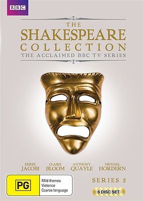 The Shakespeare Collection : Series 2 (DVD, 2015, 6-Disc Set) BRAND NEW SEALED