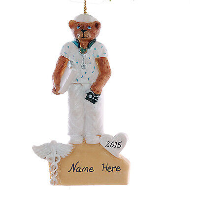 Personalized Nurse Christmas Ornament - Your choice of name and or year  (269