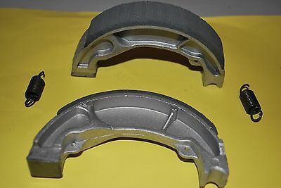 Front Brake Shoes With Springs To Fit Honda Scv100 Lead 2003 To 2009